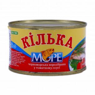 Кильки Море неразделанные в томатном соусе №5