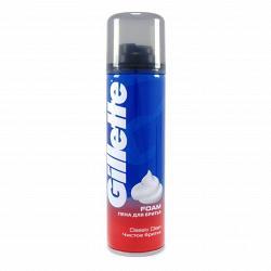 Пена для бритья Gillette Чистое бритье