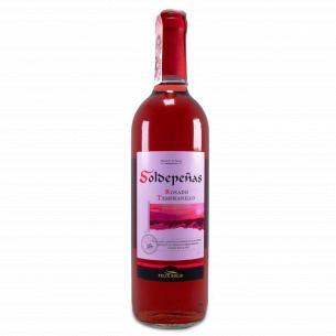 Вино Soldepeñas Rosado Tempranillo розовое сухое
