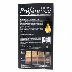 Краска для волос L`Oreal RECITAL Preference тон 7.1