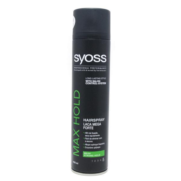 Лак для волос Syoss Max Hold