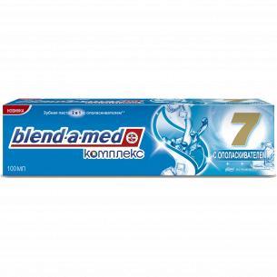 Паста зубная Blend-a-med Complete+White