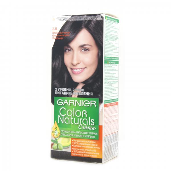 Краска для волос Garnier Color Naturals тон 2.0