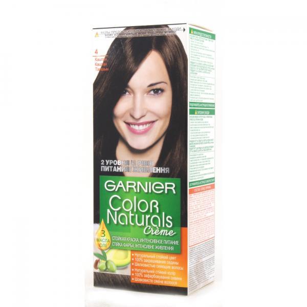 Краска для волос Garnier Color Naturals тон 4