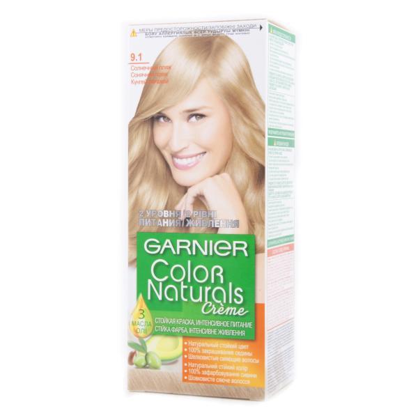 Краска для волос Garnier Color Naturals тон 9.1