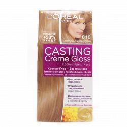 Краска для волос L`Oreal CASTING Creme Gloss тон 810