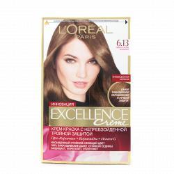 Краска для волос L`Oreal Excellence тон 6.13
