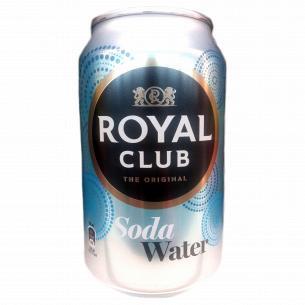 Напиток Royal Club Содовая вода б/алк ж/б