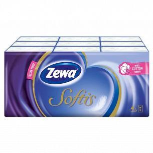 Платочки гигиенические Zewa Softis Pocket 9