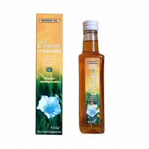 Масло льняное Kronos Oil