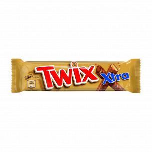 Батончик Twix Extra печенье-карамель в молочном шоколаде