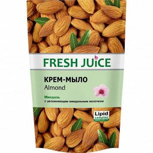 Крем-мыло жидкое Fresh Juice Миндаль запаска