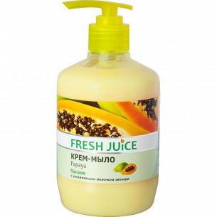 Мыло жидкое Fresh Juice Папайя дозатор