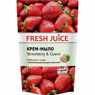 Мыло жидкое Fresh Juice Strawberry&Guava дой-пак