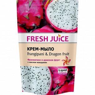 Мыло жидкое Fresh Juice Frangip&DragonFruit дой-пак