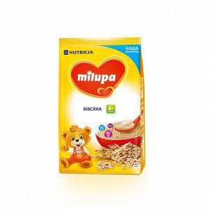 Каша молочная сухая быстрорастворимая овсяная Milupa для детей от 6-ти месяцев