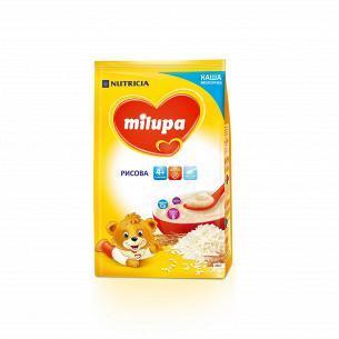 Каша молочная сухая быстрорастворимая рисовая Milupa для детей от 4-х месяцев