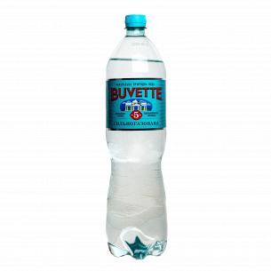 Вода минеральная Buvette №5 лечебно-столовая сильногазированная