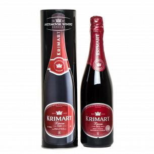 Шампанское АЗШВ Крым красное брют