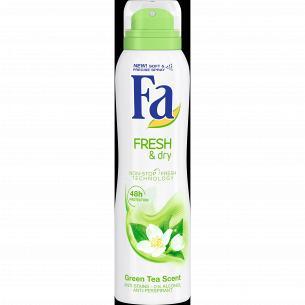 Дезодорант-аэрозоль Fa Fresh&Dry Зеленый чай