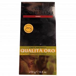 Кофе молотый Corsini Qualita` Oro жареный натуральный