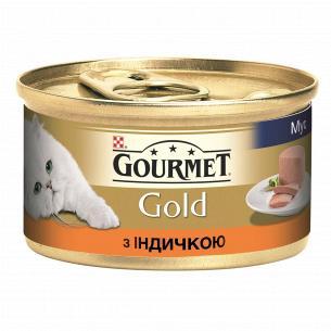 Корм Gourmet Gold паштет из индейки