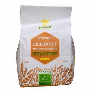 Мука Екород пшеничная грубого помола органическая
