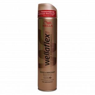 Лак для волос Wellaflex Блеск-эффект