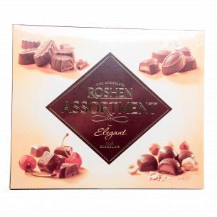 Конфеты Roshen Assortment Elegant молочный шоколад