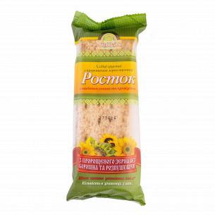 Хлебцы УкрЕкоХліб Росток с зерен пшеницы с семянами подсолнуха и кунжута