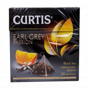 Чай черный Curtis Earl Grey Passion байховый