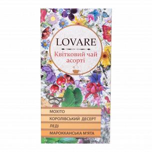 Чай цветочный Lovare Ассорти 4 вида