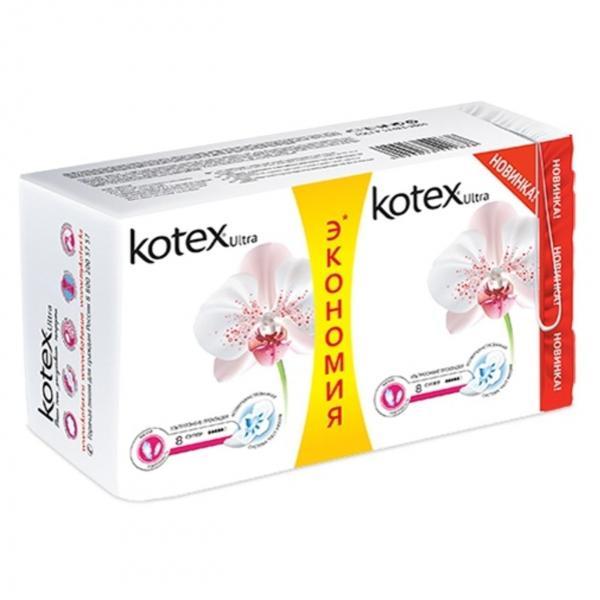 Прокладки гигиенические Kotex Ultra Extra Soft Super Deo