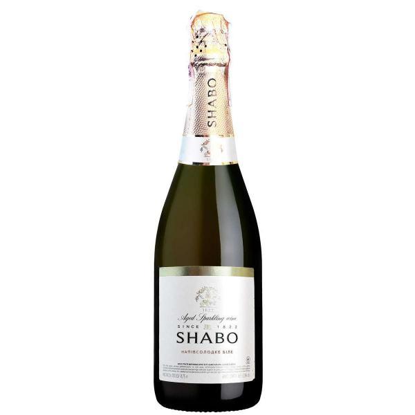 Вино игристое Shabo Classic белое полусладкое