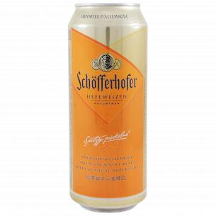 Пиво Schofferhofer светлое ж/б
