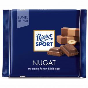 Шоколад молочный Ritter Sport с начинкой пралине