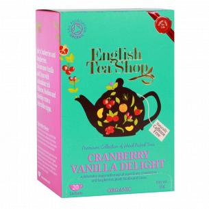 Чай травяной English Tea Shop клюква, ванильное наслаждение