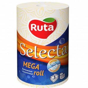 Полотенца бумажные Ruta Selecta Mega roll