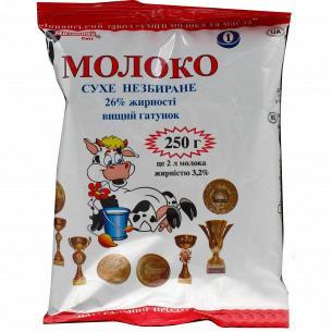 Молоко Молочний Світ сухое цельное 26%