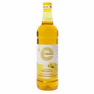 Масло кукурузное EkоМаrkа с добавлением оливкового