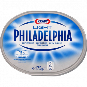 Сыр Philadelphia лёгкий
