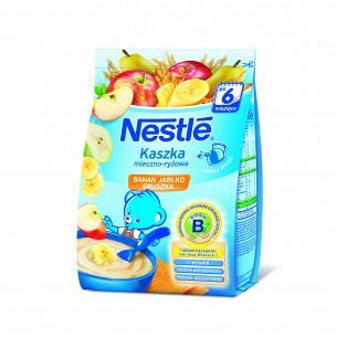 Каша Nestle рисовая банан-яблоко-груша молочная 230г
