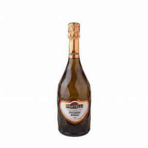 Вино Fratelli Frizzante Bianco слабогазированное полусладкое белое 0,75 л.