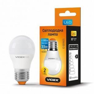 Лампа Videx LED G45e 3.5W 4100K 220V E27