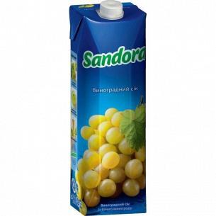 Сок Sandora белый виноград