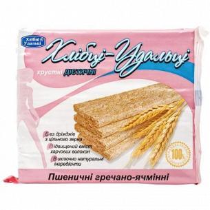 Хлебцы Удальцы пшенично-гречневые-ячменные