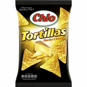 Чипсы Chio Tortillas Nacho со вкусом сыра