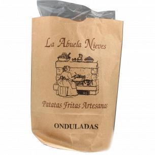 Чипсы La Abuela Nieves картофельные рифленые
