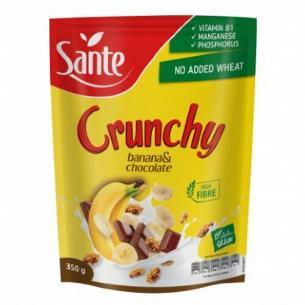 Кранчі Sante з бананом і...