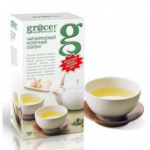 Чай бирюзовый Gr@ce! Молочный оолонг